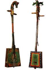 horse-head fiddles