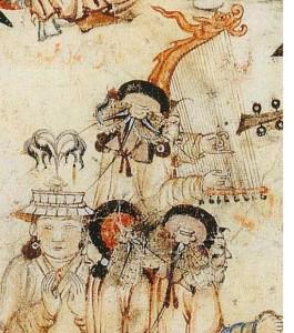 Enthronment of a Mongol ruler 6