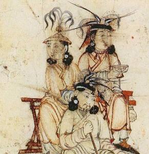 cut from Rashid enthronement