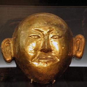 Golden_Mask_of_Princess_of_Chen_State
