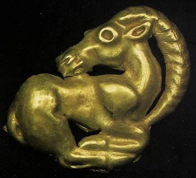 scythian_gold_plaque_goat