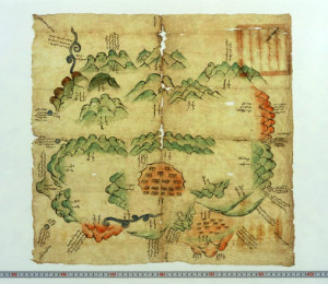 old Mongolian map 1803-5
