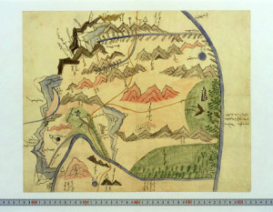old Mongolian map 1912-14