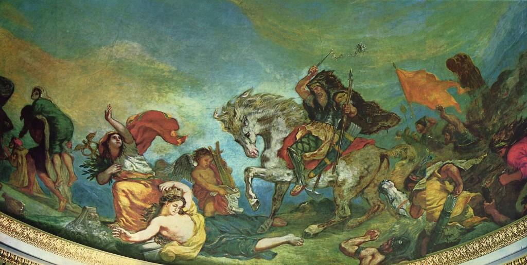 Attila ceiling _Delacroix_