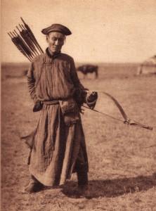 Mongol Archer, Inner Mongolia ,1940's