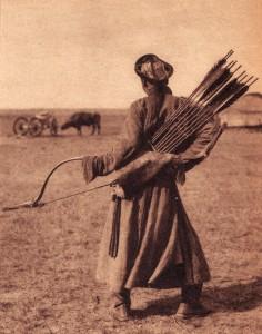 mongol-archer-in-inner-mongolia-1940s