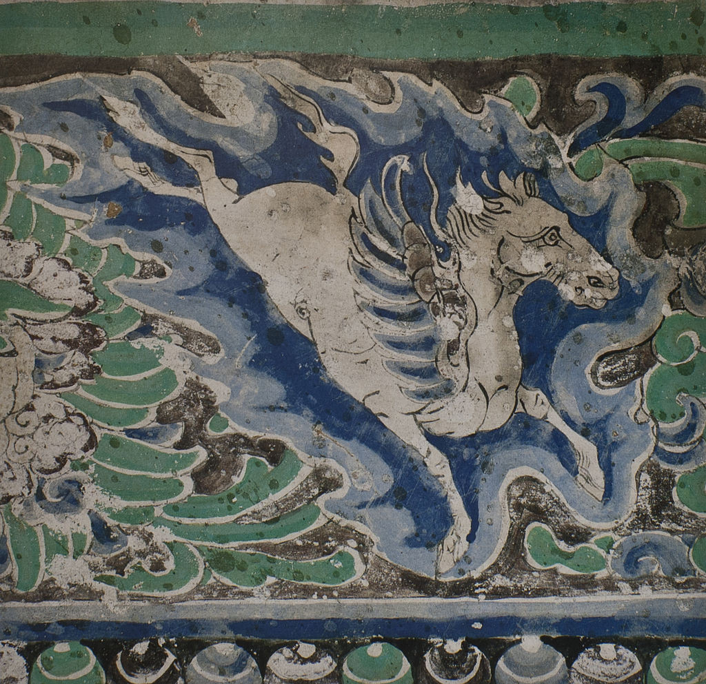 1024px-Yulin_Cave_10_ceiling_w_winged_horse_(Western_Xia)