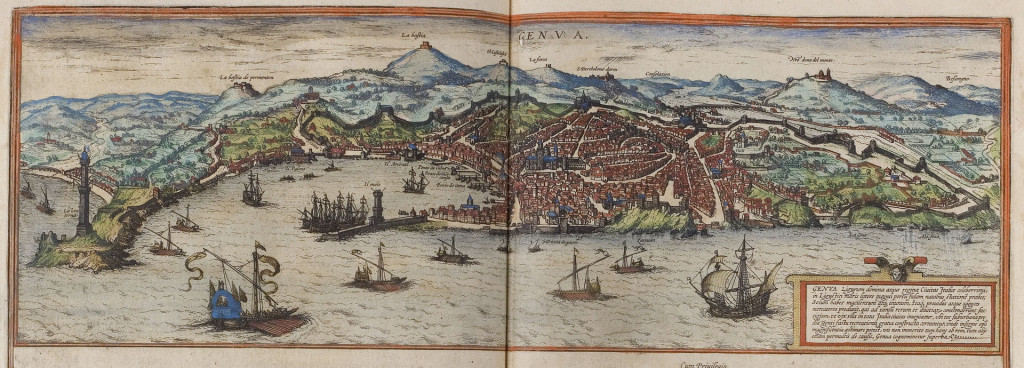 Braun_Genova_UBHD View of Genoa in 1572