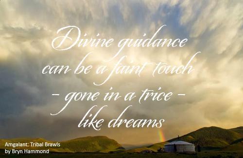 graphic - Divine guidance
