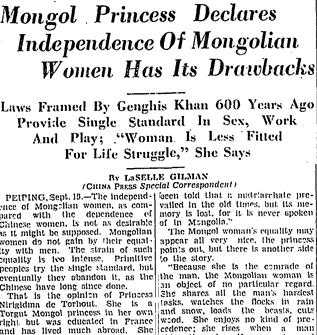 Mongol princess article - better cut